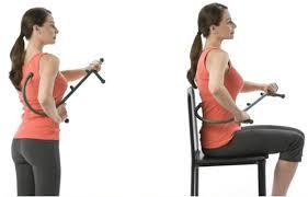 back hook new thera back hook massager neck self pressure stick