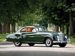 1953 bentley r type continental sports saloon by h j mulliner