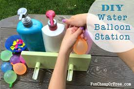 Challenge Water Balloon Diy Water Balloon Station Easiest Way To Fill Water Balloons