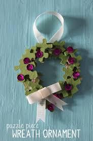 puzzle wreath ornament papa bubba