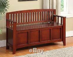 Tall Storage Bench Bench Seat Entryway Shoe Organizer Hallway Wood Furniture Tall