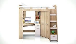 lit mezzanine avec bureau pour ado hauteur bureau enfant hauteur bureau unique lit mezzanine la d