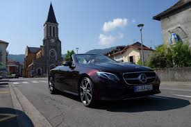 mercedes convertible first drive 2018 mercedes benz e400 4matic cabriolet automobile