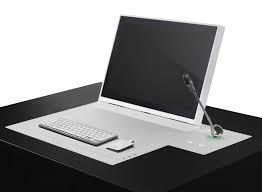 ecran tactile pc bureau écran tactile pour table de conférence mural rabattable