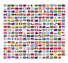 Flags Countries 287 Country Flag Icons U2014 Stock Vector Stepanp 117968780