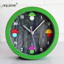 horloge sur le bureau creative pastorale rétro chignons alarme horloge antique style