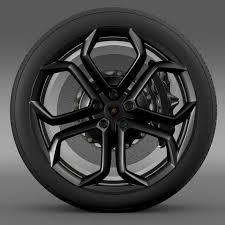 lamborghini aventador wheels 3d model lamborghini aventador wheel cgtrader