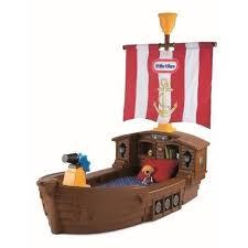 chambre bateau pirate tikes lit enfant bateau de pirate 177 x 102 x 89 cm