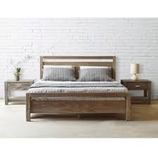 Brown Wood Bed Frame Wood Beds For Less Overstock