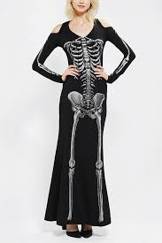 Skeleton Halloween Dress by Lip Service Skeleton Maxi Dress At Urban Outfitters Diy