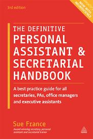 the definitive personal assistant u0026 secretarial handbook