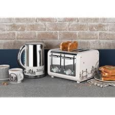 Dualit Toaster Cage Dualit Architect Toaster Panels 16006 Azure Blue Amazon Co Uk