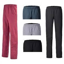 pantalon cuisine pantalon de cuisine mixte reglisse lafont 1reg87pc