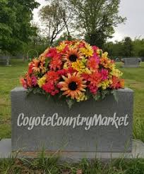 headstone decorations memorial saddle headstone saddle cemetery flowers flowers for