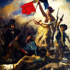 Delacroix Meme - art my edit romanticism french revolution sir i queue better from a