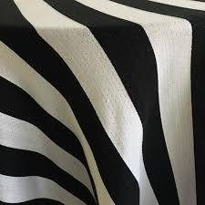 Black And White Table Cloth Black And White Stripe Woven Tablecloth The Tablecloth Hiring