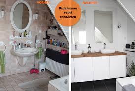 badezimmer bilder badezimmer selbst renovieren vorher nachher design dots