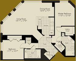 Floor Plan Of 2 Bedroom Flat 19 Floor Plan For One Bedroom Apartment Modern House Floor