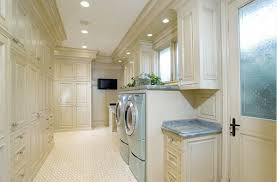 Contemporary Laundry Room Ideas Contemporary Laundry Room Design With Quadrangle Table And Gold