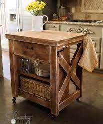portable kitchen island ideas farmhouse kitchen island with wheels home pinterest
