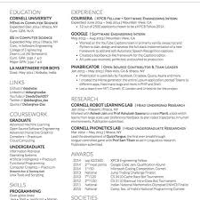 Cloud Computing Experience Resume Resume Latex Template
