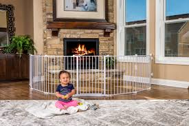 4 in 1 play yard safety gate baby safety zone powered by jpma