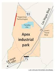 Las Vegas Motor Speedway Map by Governor Shows Zeal For Being First Nevada Hyperloop Passenger