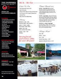 Snowbird Ski And Patio Snowbird Restaurant At The Ptarmigan Inn Steamboat Springs Colorado