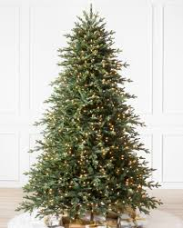 carolina blue ridge artificial christmas tree balsam hill