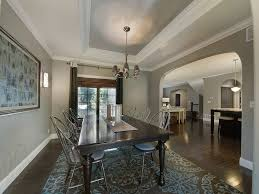 Tray Ceiling Dining Room - benjamin moore moonshine dining room traditional with tray ceiling