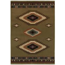 Aztec Runner Rug Bright Aztec Rug Tapinfluence Co