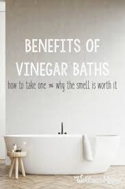 benefits of vinegar baths wellness mama