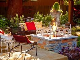 build a backyard landscaping ideas with fire pit home design ideas
