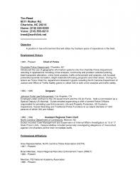 entry level police officer resume police officer duties