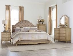Upholstered Headboard Bedroom Sets Homelegance Ashden Upholstered Bedroom Set Driftwood B1918 1