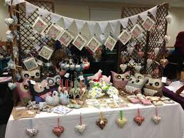 my stall at the cheltenham connect christmas craft fayre craft