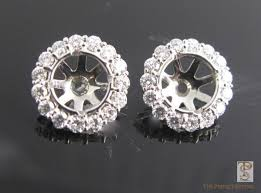 diamond earring jackets diamond stud halo earrings the setting
