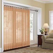 home naples grommet top bamboo panel sliding glass door glass