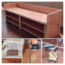 Wooden Sofa Project Wooden Sofa Shoe Cabinet Almost Done I Did The Design And