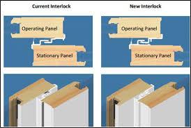 Patio Door Weatherstripping Andersen A Series 400 Series And 200 Series New Interlock