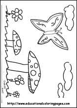 spring coloring pages free kids