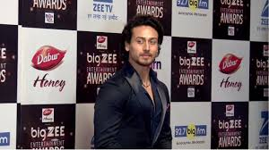 Red Carpet Entertainment Tiger Shroff At Red Carpet Of Big Zee Entertainment Awards 2017