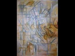 cubism painting of pianist qing jing youtube
