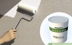 how to paint a concrete wall 8 steps with pictures wikihow
