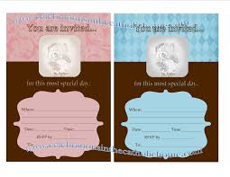 Sample Of Invitation Card For Christening Printable Baptism Invitations Thebridgesummit Co
