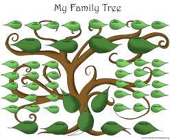 templates free printable family tree diagram family tree
