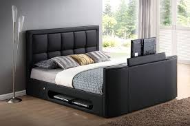 Bed Frame With Tv In Footboard Azure Tv Bed Frame Tv Bed Store
