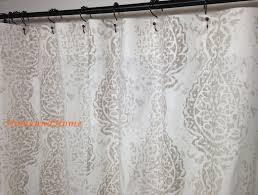extra long fabric shower curtain 96 u2022 shower curtain