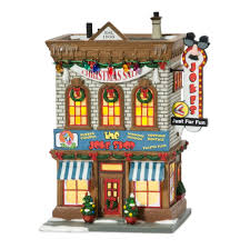 department 56 a story lit miniature building joke