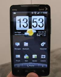 is htc android sprint s htc evo the 4g phone meet the new terrific